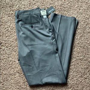 NWT Mens Kenneth Cole Grey dress pants 34Wx34L